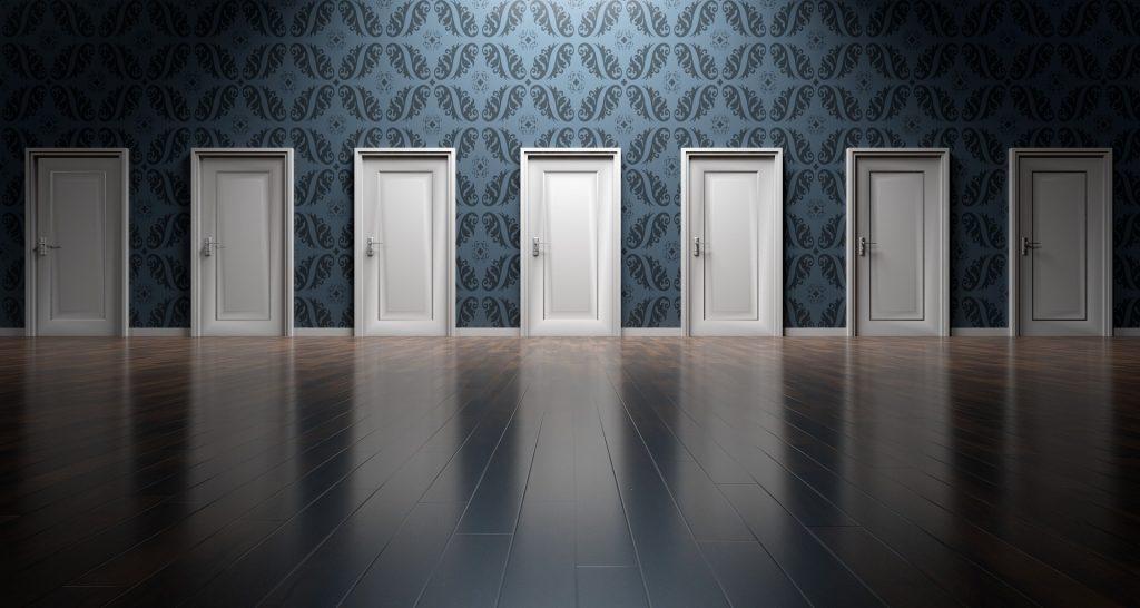Wall of Closed Doors