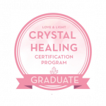 Crystal Healing Certification for Kristin Denise Walcott
