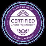 Hibiscus Moon Crystal Academy CCP badge